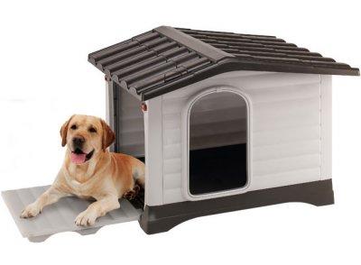 Caseta pl stico dogvilla tienda especializada en casetas - Casetas para perros ...